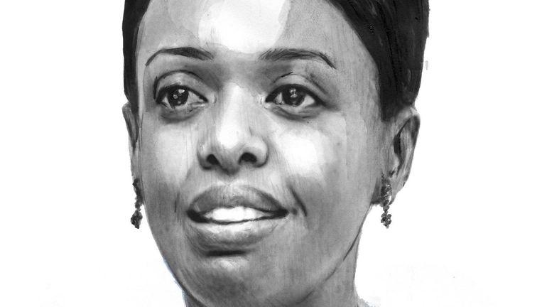 Diane Shima Rwigara studeerde in de Verenigde Staten, werd succesvol accountant en kreeg drie kinderen. Maar ze denkt dat de tijd nu rijp is voor vrouwelijke politici in Rwanda. Beeld Berto Martinez