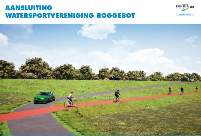 Alle aansluitingen met de N306, zoals die bij Watersportvereniging Roggebot, moeten worden aangepast.
