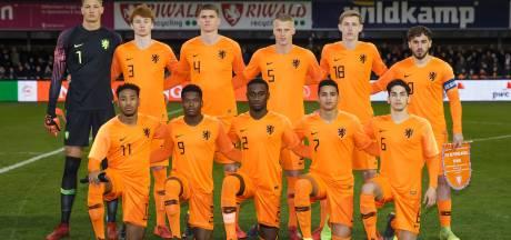 Oranje Onder-19 loopt EK mis door extreem late goal Spanje