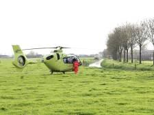 Traumahelikopter landt in Erichem na ongeval op Lutterveld