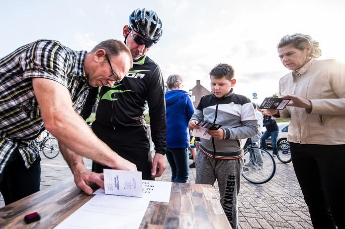 Eerste fietsvierdaagse van Fijnaartse WielerToerClub is een succes