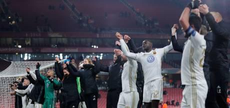 Het voetbalsprookje van Östersunds eindigt tegen Arsenal