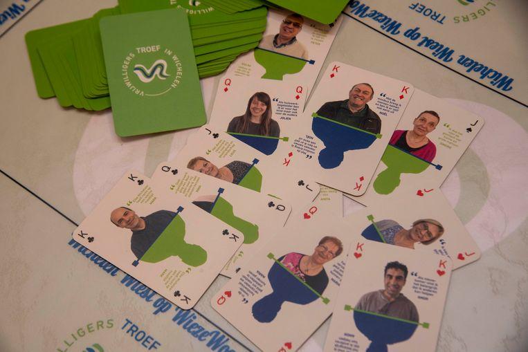 In het woonzorgcentrum in. Wichelen kan je kleurenwiezen met gepersonaliseerde kaarten.
