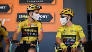 LIVE TOUR. Eerste renners trekken zich op gang, kan Pogacar Roglic nog bedreigen? En wat doet Van Aert?