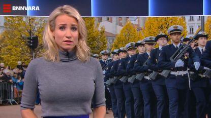 """Nederlands nieuwsanker slaat terug na kritiek op 'afleidende' boezem: """"Deal with it"""""""