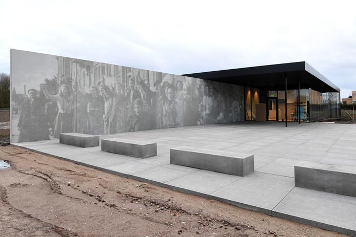 Het gebouw van het Maczek Memorial Breda aan de Ettensebaan.