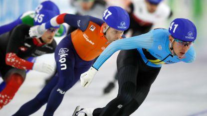 Swings pas vijftiende op WK massastart, goud is voor Nederlander Bergsma