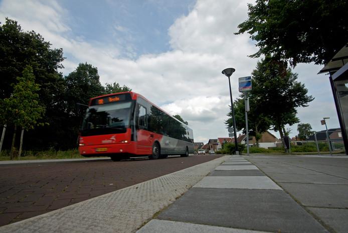 Alle bushaltes in de gemeente Rucphen, waaronder deze aan de Pastoor Bastiaansensingel in Sint Willebrord, werden eerder al aangepast voor ouderen en mensen met een beperking.