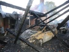 Na verwoestende brand in Sint-Michielsgestel: 'Waar kunnen we de komende tijd wonen?'