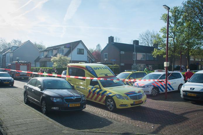 De Margrietstraat in Nieuwegein is afgezet