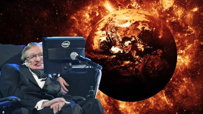 """Stephen Hawking: """"Aarde zal tegen 2600 grote vuurbal worden. Maar er is een uitweg"""""""