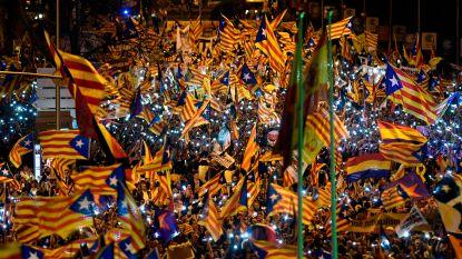 Duizenden Catalanen betogen in Madrid