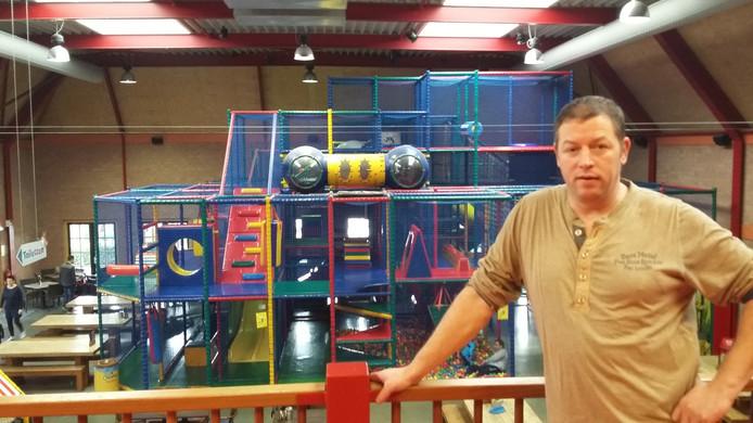 Johan Lanslots, eigenaar van het goedgekeurde speelparadijs De Vossenberg in Gilze
