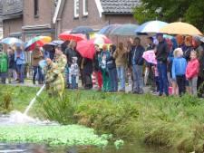 Regen verstoort Polsbroekse kikkerrace niet