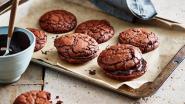 American Chocolate Brownie Cookies... mét appelsien