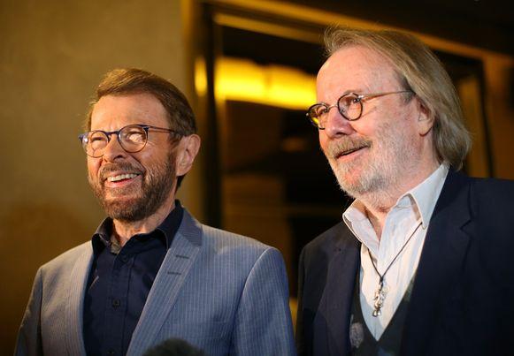 Bjorn Ulvaeus en Benny Andersson  van ABBA.