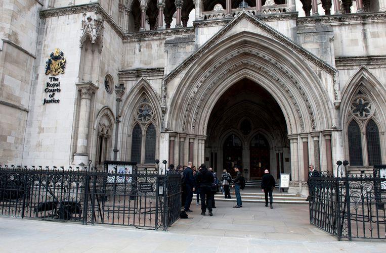Het gerechtshof in Londen Beeld null