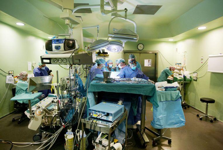 Een operatiekamer. Beeld Javier Larrea