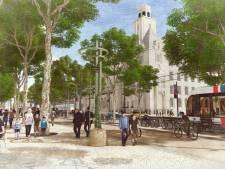 'Groene golf' over Coolsingel: robuuste platanen moeten vernieuwde boulevard opfleuren
