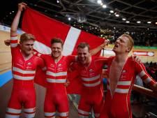 Opnieuw wereldrecord Deense achtervolgers bij WK baan