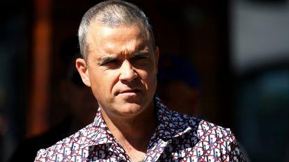 """Robbie Williams vertelt over obese periode: """"Ga nooit stoned naar de supermarkt"""""""