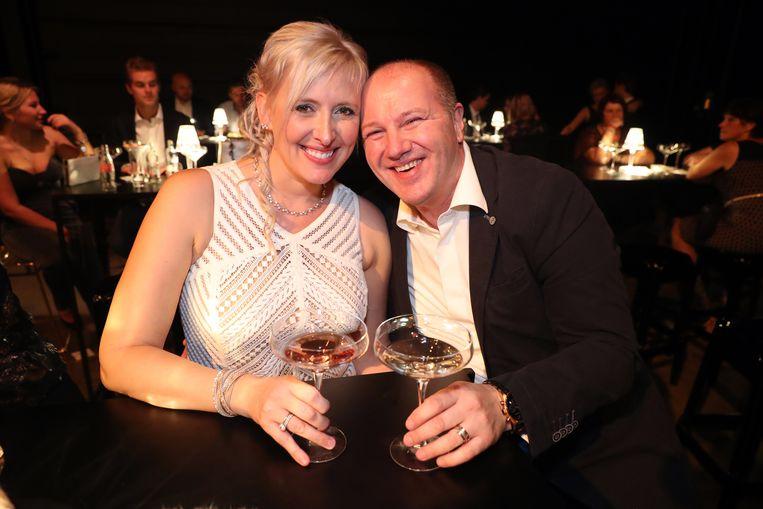 Trisha met haar man Kurt.
