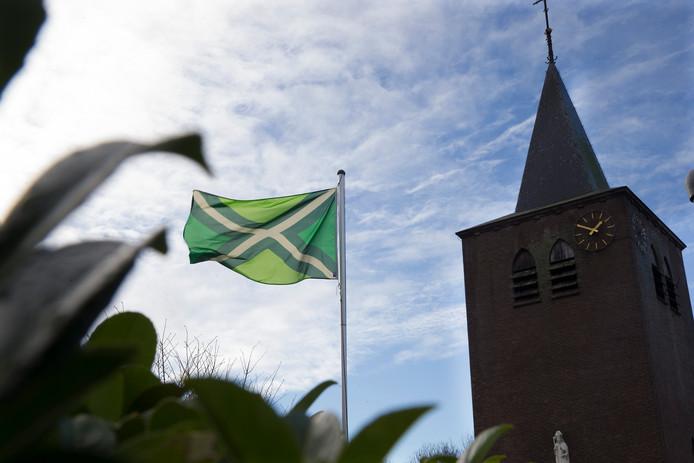 De Achterhoekse vlag wappert overal en is een groot succes.