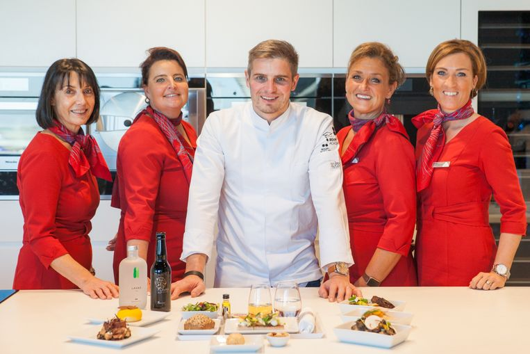 De Roeselaarse sterrenchef Tim Boury legt in 2020 Business Class-klanten van Brussels Airlines culinair in de watten.