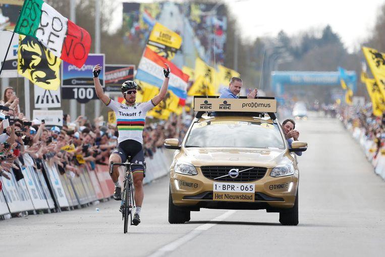 Peter Sagan wint de Ronde van Vlaanderen Beeld anp