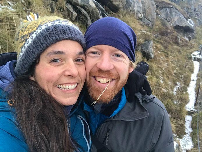 """Jochem Cuypers: """"Onze huisjes in Namsskogan werden verhuurd aan toeristen die net als wij bezeten waren door de natuur. Een van die bezoekers was Kim, met haar familie"""""""