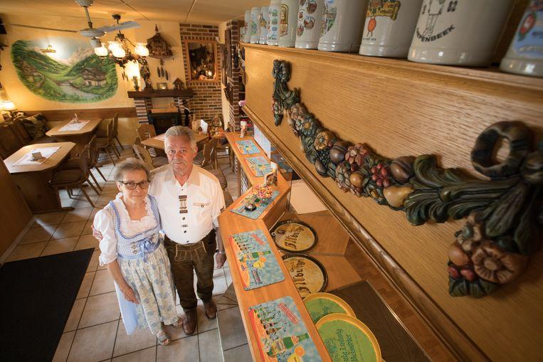 Gasthof Lederhose b&b in Diepenbeek bij Hugo en Frieda