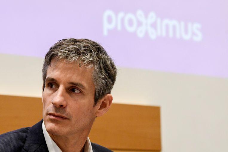 Guillaume Boutin, CEO van Proximus.