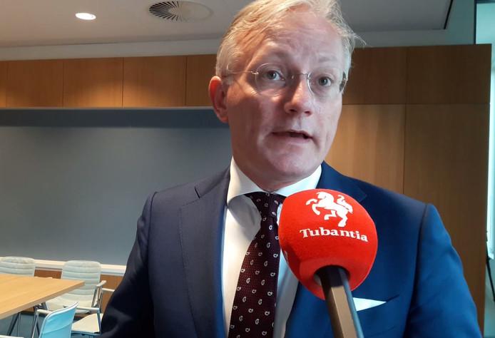 Arjen Gerritsen, bij een eerder gesprek met Tubantia.