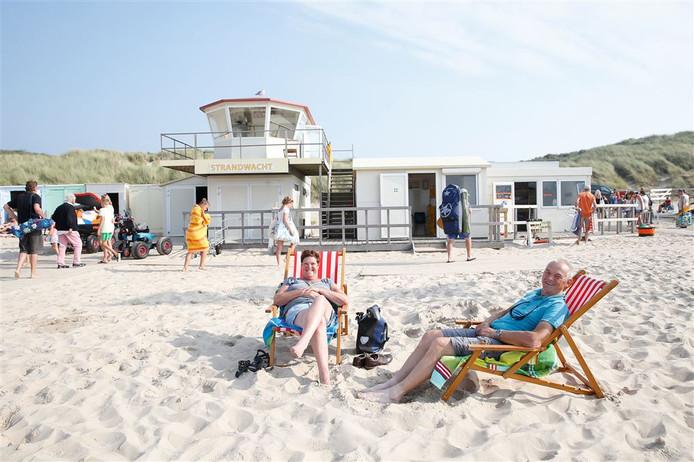 Ook in 2016 was Oostkapelle de winnaar van de titel Schoonste Strand van Nederland.