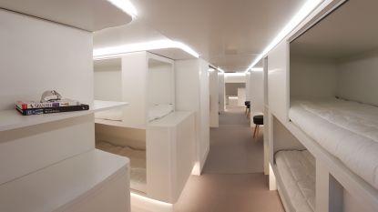 Vanaf 2020 kan je dutje doen in vrachtruim Airbus