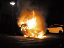Waddinxvener (23) aangehouden op verdenking van stichten autobranden