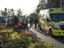 Motorrijder gewond door val op kruising in Zevenaar