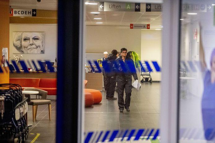 Het Beatrixziekenhuis in Gorinchem sloot begin maart de deuren vanwege een coronabesmetting.