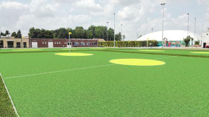 Korfbal- en voetbalclub leggen samen drie kunstgrasvelden aan