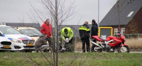 Motorrijder gewond door ongeval op Nijkerkse rotonde