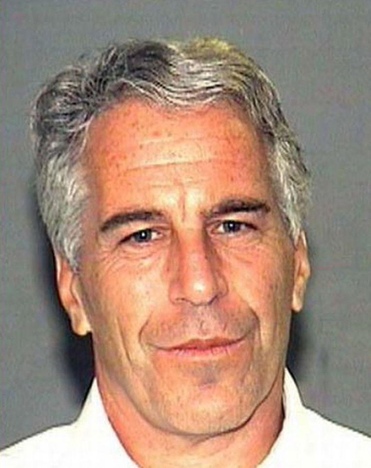 De Amerikaanse multimiljardair Jeffrey Epstein.