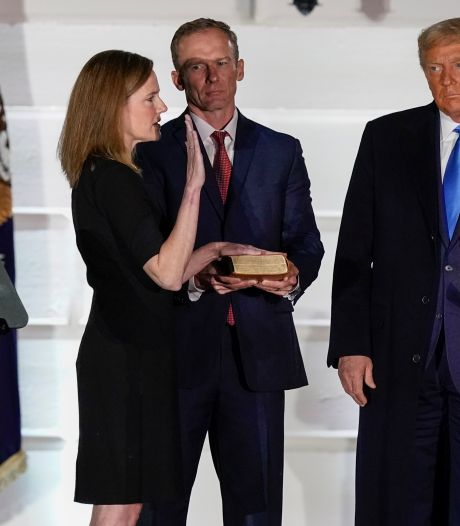 Trump schrijft geschiedenis met benoeming opperrechter