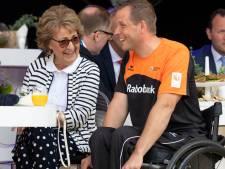 Prinses Margriet heeft veel met gehandicapte topsporters