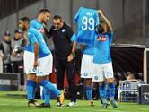 Napoli-spelers denken aan geblesseerde Milik