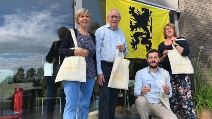 N-VA-afdelingen Pepingen en Gooik belonen inwoners die Vlaamse leeuw uithangen op 11 juli