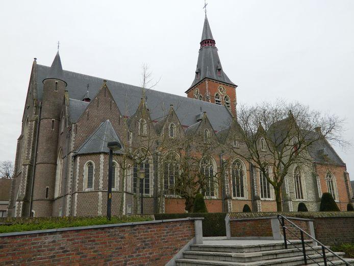 De Sint-Corneliuskerk van Aalter.