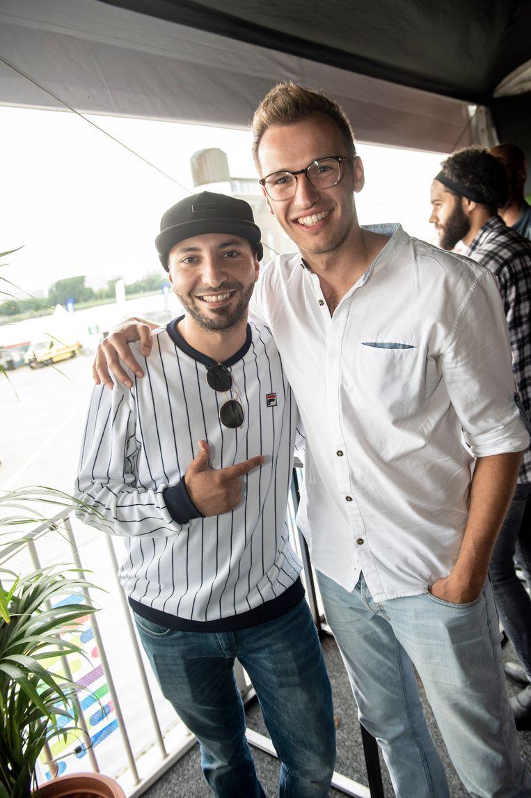 Nawfel Bardad-Daidj en Michiel De Meyer.