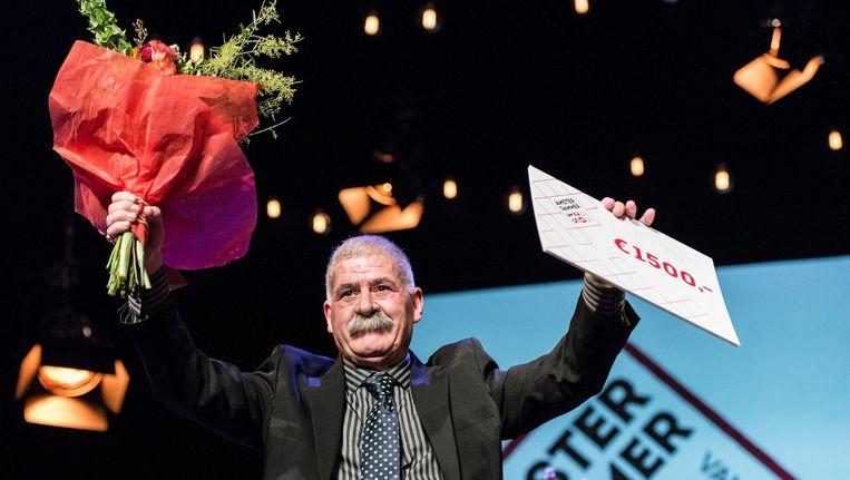 Nasir Higazi wint de eervolle prijs Beeld Mats van Soolingen