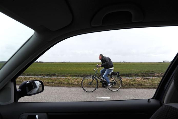 Op de fiets of met de auto naar het werk?