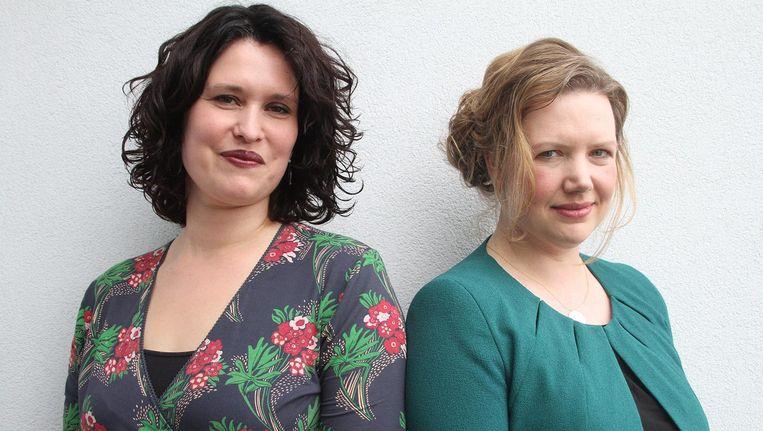 Zoë Papaikonomou en Annebregt Dijkman Beeld Hajar Scholten